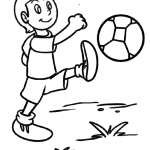 Coloriage football | Des sports