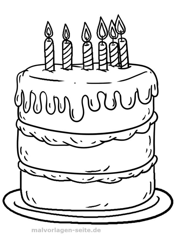 Värityskerran syntymäpäiväkakku