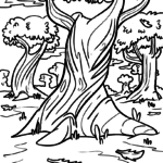 Coloring page autumn | Seasons