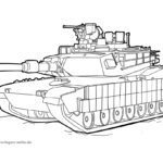 Coloring page tanks | vehicles