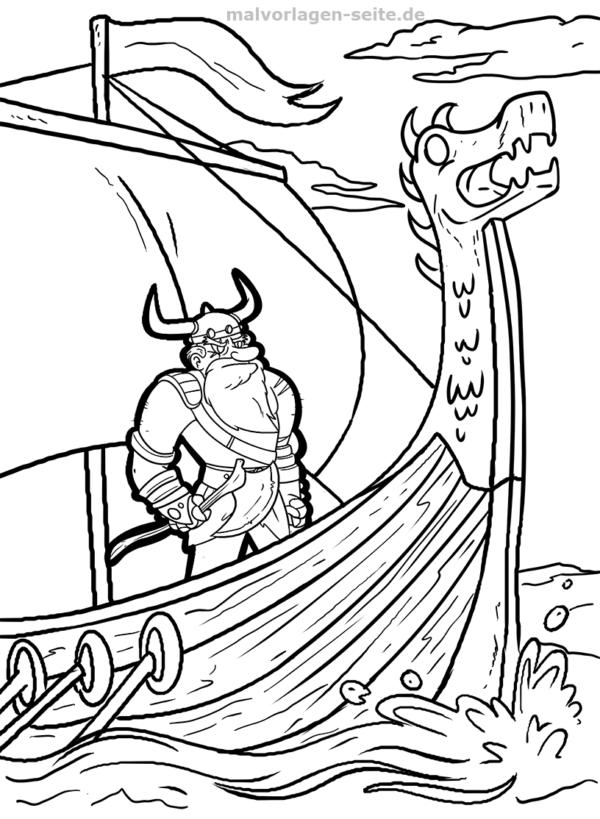 Koloranan nga panid nga Viking