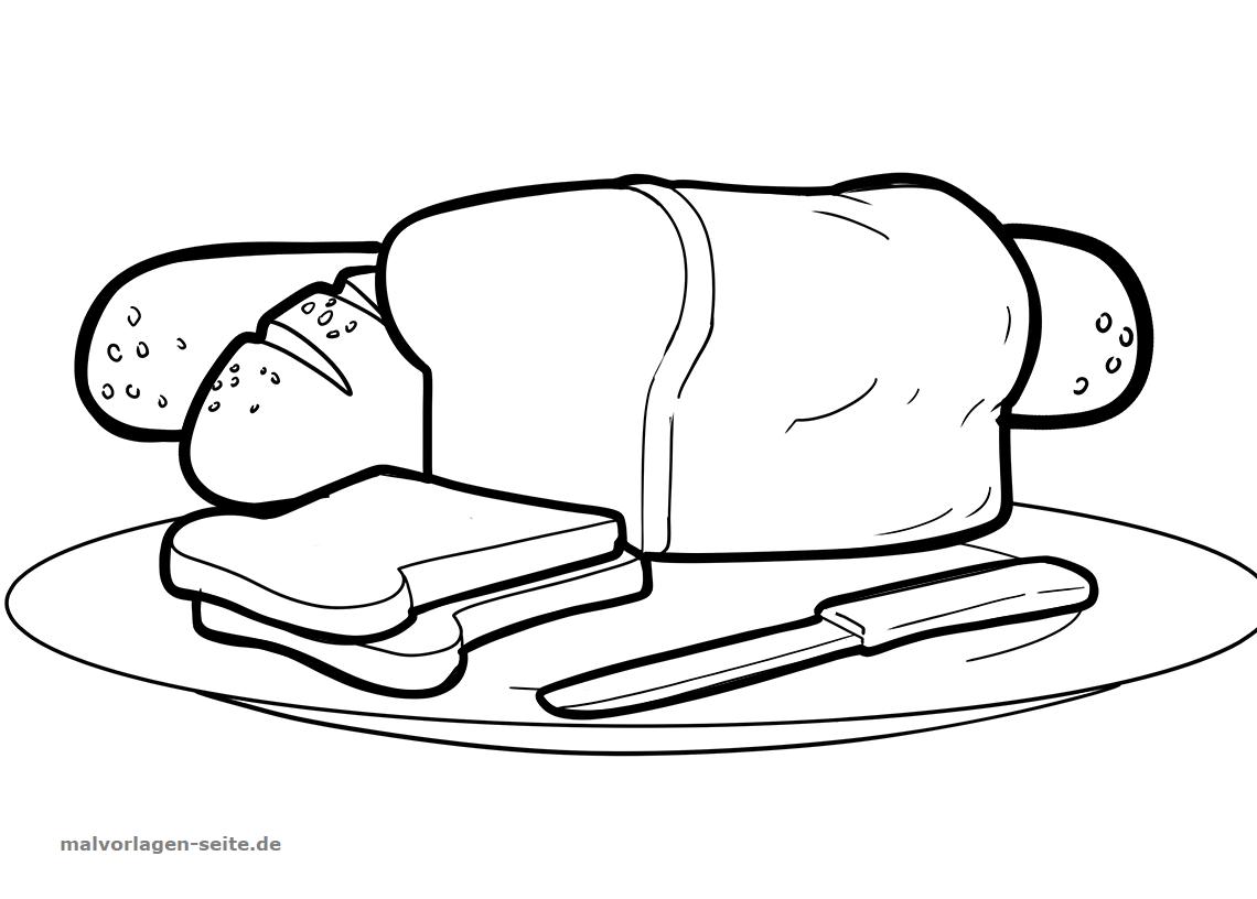 Großartig Brot Malvorlagen Bilder - Druckbare Malvorlagen - amaichi.info