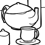 Coloring Pages Drink & Drinks