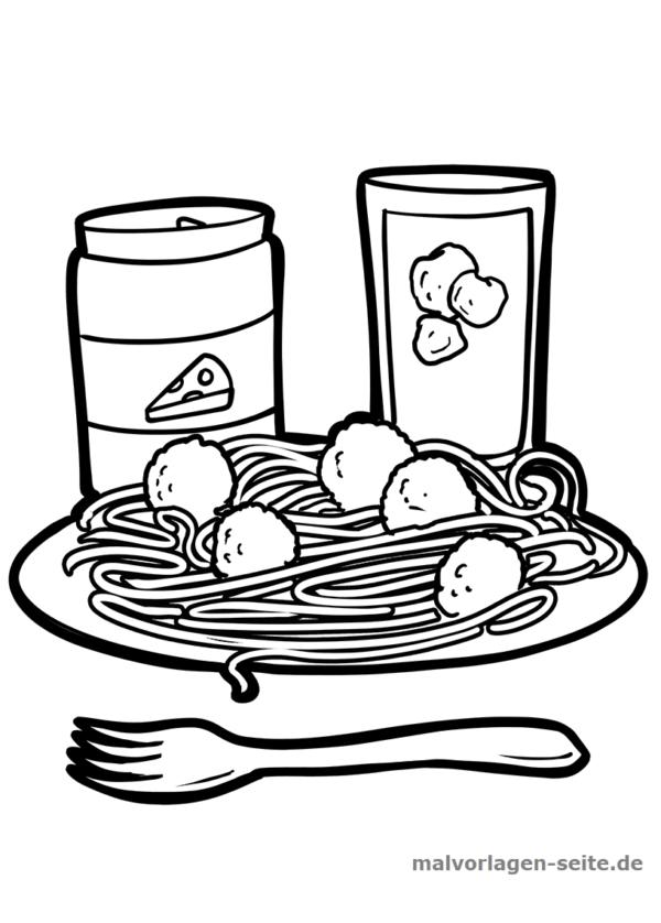 Bojanje stranice špageti