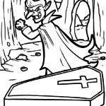 Mga panid sa pagkolor sa mga bampira | Bampira - Libre nga Mga Panid sa Pagkolor