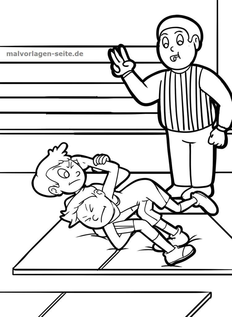Nett Wrestler Malvorlagen Ideen - Framing Malvorlagen ...