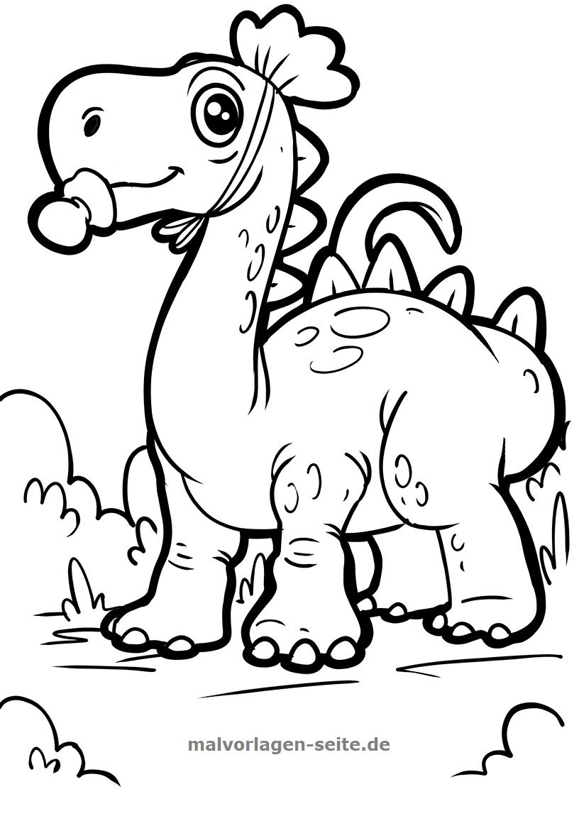 Malvorlagen Für Kinder: Ausmalbilder / Malvorlagen Dinosaurier