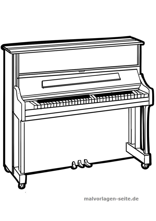 Värityskohta soittimen piano