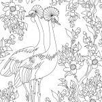 Coloring pages for adults - animals