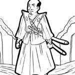 Coloring page Samurai | people
