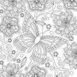Coloring page Butterfly for Adults