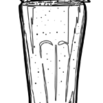 I-coloring page smoothie | udle