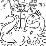 Čarobnjak bojanke | Mitska bića