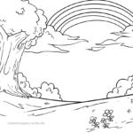 Malvorlagen Ausmalbilder Regenbogen Gratis Malvorlagen Zum Download