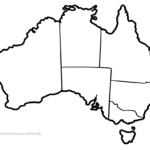 Karta Australije