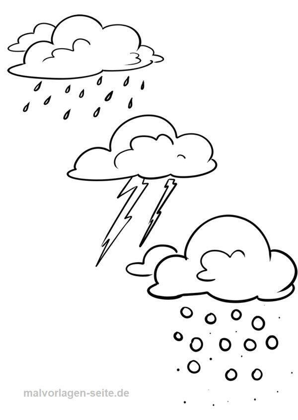Värityssivun sademäärän sää