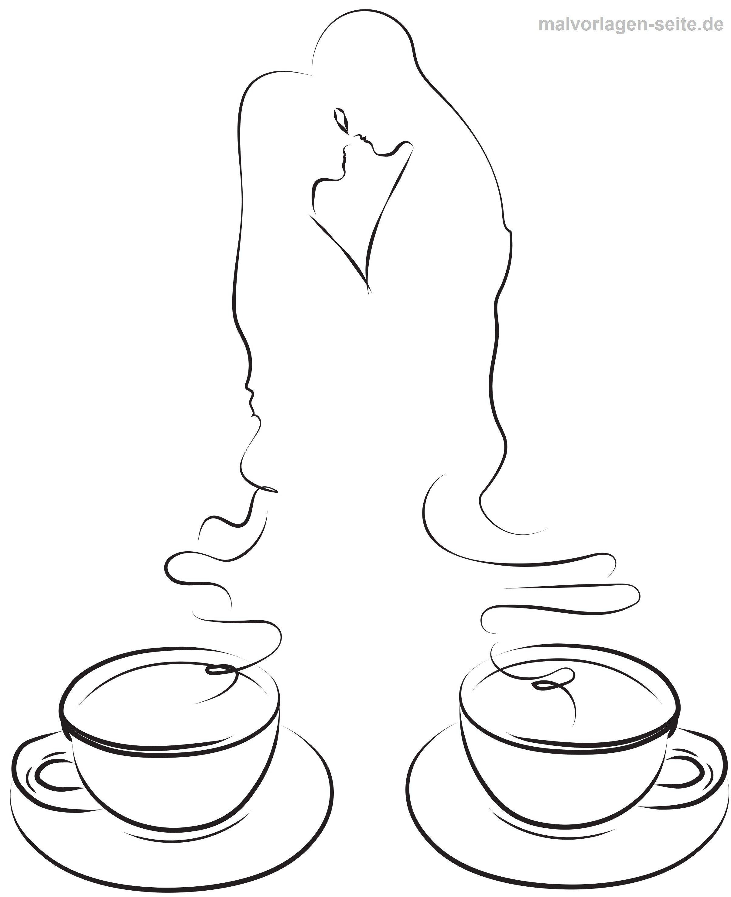 Malvorlage Erwachsene Körper Symbol