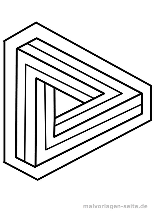 Unmögliche Figur - Dreieck