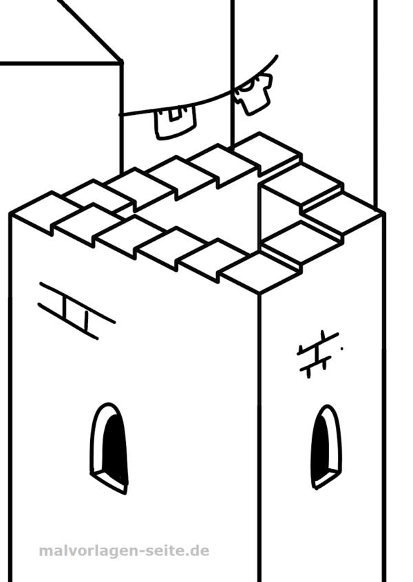 Unmögliche Figur - Treppe