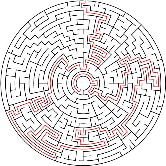 labyrinth für erwachsene  kostenlose ausmalbilder
