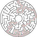 Labyrinth / maze for children around
