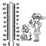 Värityssivun lämpömittari | sää