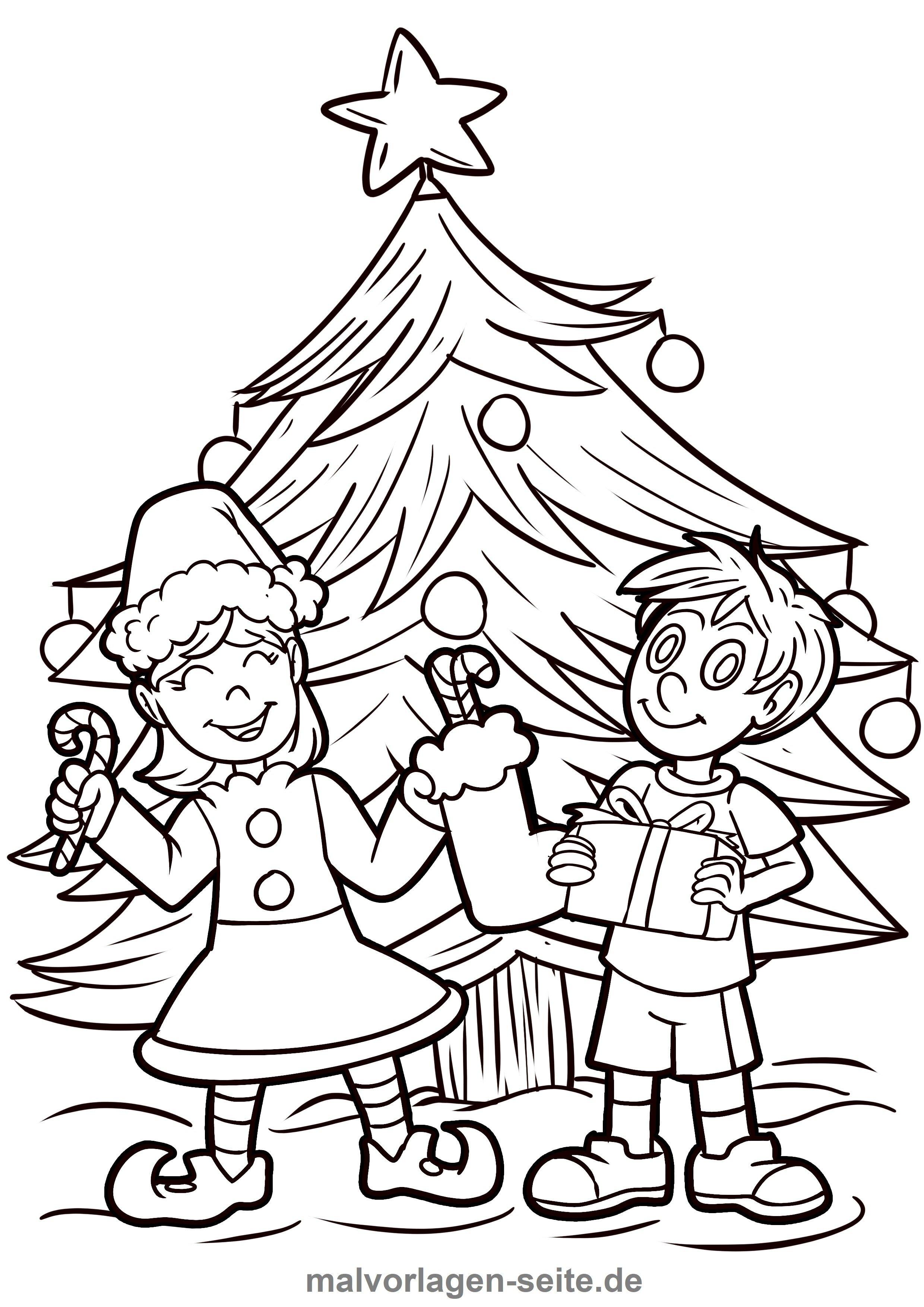 malvorlage weihnachten | ausmalbilder kostenlos