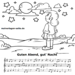 Good night songs | Music for children
