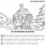 Deutsche Weihnachtslieder Zum Ausdrucken.Weihnachtslieder Noten Und Texte Kostenlos Ausdrucken