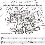 Песні Sankt Martin | Музыка для дзяцей - бясплатныя размалёўкі