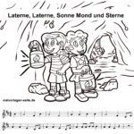 Laterne Laterne - Noten und Text