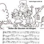 Süßer die Glocken nie klingen – Noten und Text
