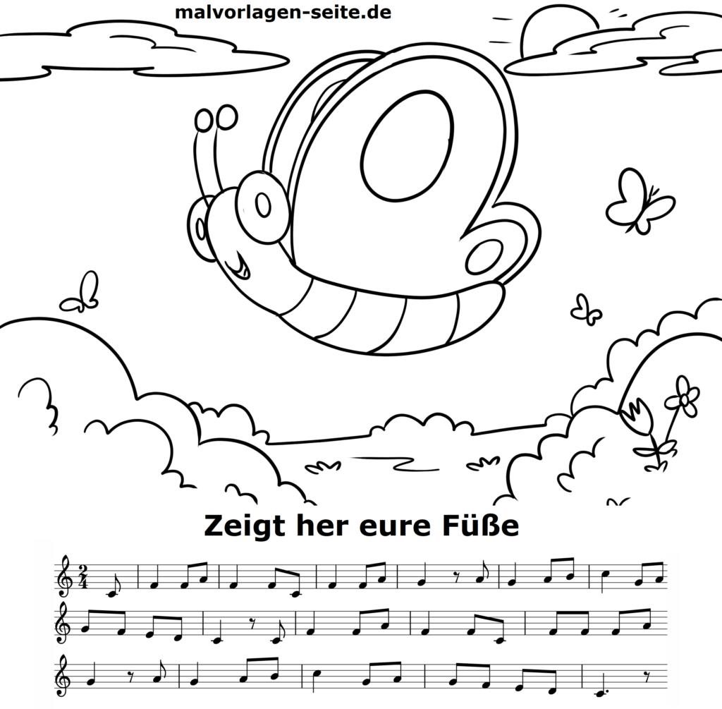 noten und texte von kinderliedern  kostenlos zum download