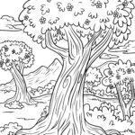 Өнгөт хуудас мод | ургамал