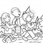Bojanje stranice Dječji vrtić Sveti Martin kreću se