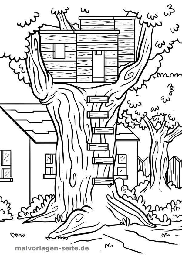 Farvelægning træhus