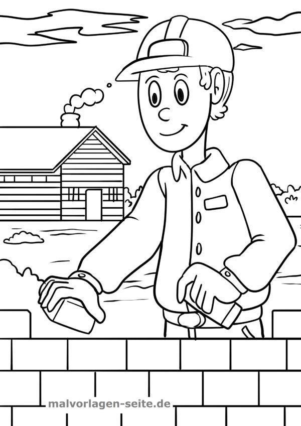 Página para colorear sitio de construcción | Páginas para colorear ...