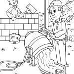 Malvorlagen Rund Um Das Thema Baustelle