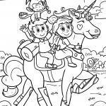 Coloring unicorns
