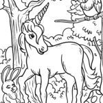 Coloring Unicorn