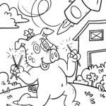 Coloring page New Year's Eve / New Year | public holidays