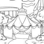 Malvorlage Zirkus