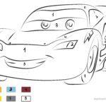 Malen nach Zahlen – McQueen Cars