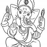 Coloring Pages Hinduism - Religion