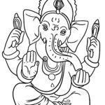 Malvorlage Religion - Hinduismus