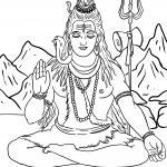 Ausmalbilder Hinduismus - Religion - Kostenlose Ausmalbilder