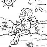 Ausmalbilder Katzen - Kostenlose Ausmalbilder