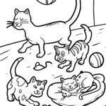 Malvorlage Katze