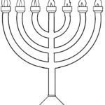 Malvorlage Religion – Judentum