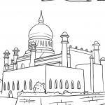 Coloring Pages Islam - Religion